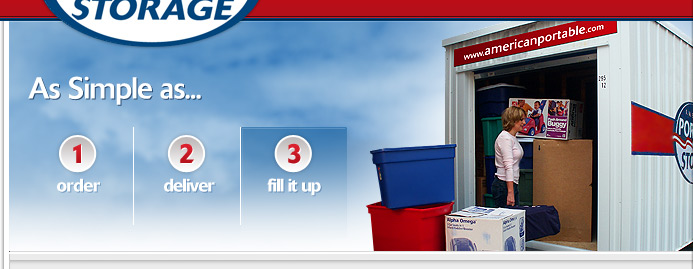 American Portable is the simple solution for storage containers!