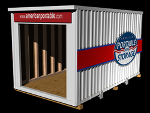 16 foot portable storage from American Portable Mini Storage