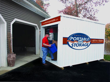 Hassle free storage from American Portbale Mini Storage